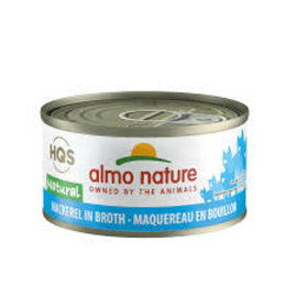 Almo Nature Almo Nature HQS Natural Mackerel in Broth Cat Can 70g