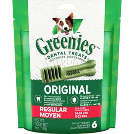 Greenies GREENIES Dog Regular Size (6 Pack)