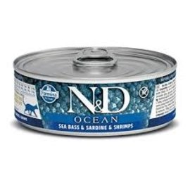 Farmina N&D Ocean Cat - Sea Bass, Sardine & Shrimp 3oz