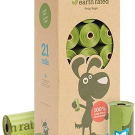 Earth Rated ERPB \ Unscented \ Refill Rolls Bulk (315 Bags)