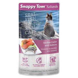 SNAPPY TOM Snappy Tom Cat - Sardine Cutlet/Salmon 100g Pouch