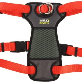 COASTAL PET PRODUCTS INC Walk Right Front Connect Padded Harness Large Red Dog