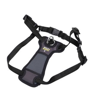 COASTAL PET PRODUCTS INC Walk Right Front Connect Padded Harness  Black