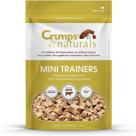 Crumps' Crumps' Dog Naturals Beef Liver Mini Trainers 50g