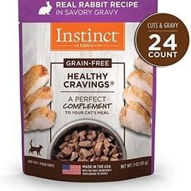 instinct Instinct Healthy Cravings for Cats - Rabbit in Gravy 3oz Pouch