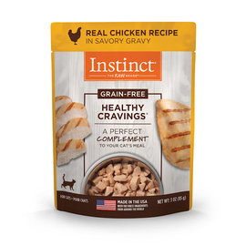 instinct Instinct Healthy Cravings for Cats - Chicken 3oz Pouch
