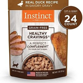 instinct Instinct Healthy Cravings for Cats - Duck 3oz Pouch
