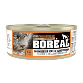 BOREAL Boreal Cat - Cobb Chicken & Heritage Turkey 5.5oz