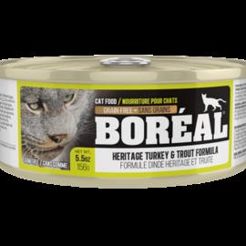 BOREAL Boreal Cat - Heritage Turkey & Trout  5.5oz