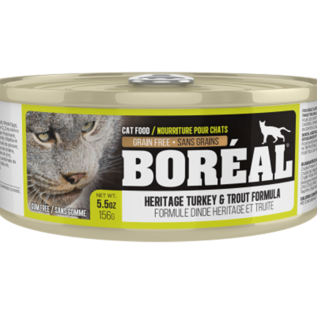 BOREAL Boreal Cat - Heritage Turkey & Trout  5.5oz