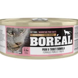 BOREAL Boreal Cat - Pork & Trout 5.5oz