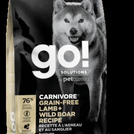Go! Go! Dog - Carnivore Lamb/Boar Grain Free 22LB