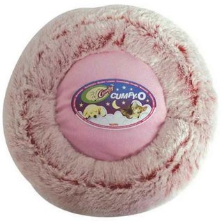 Burgham Cumfy Beds Cumfy-O Pink Dog & Cat Bed 17""