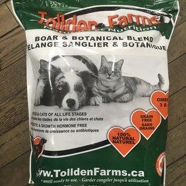 Tolden Farms Tollden Farms Frozen Pet Food Boar & Botanical 8LB