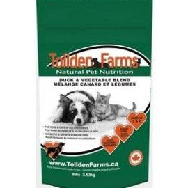 Tolden Farms Tollden Farms Frozen Pet Food Duck & Vegetable 8LB