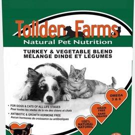Tolden Farms Tollden Farms Frozen Pet Food Turkey & Vegetable 8LB