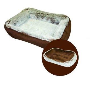"Burgham Cumfy Beds Cumfy-O Gray Dog & Cat Reversible Bed 26"" x 21"""