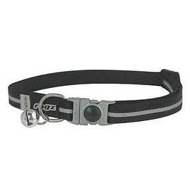 Rogz Rogz Cat Collar Black Small 8-12in