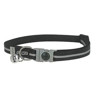 Rogz Rogz Cat Collar Black Small 8-12in