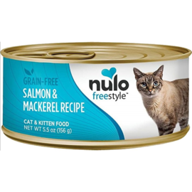 Nulo Nulo Cat Wet - Grain-Free Salmon & Mackerel 5.5oz