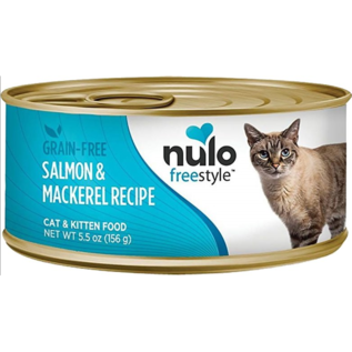 Nulo Nulo Cat Wet - Salmon & Mackerel 5.5oz