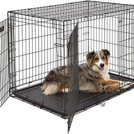 "Smart Pet Love X-Large Training Crate 42"" Double Door 42"" L x 27.5"" W x 30"" H"