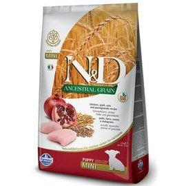 Farmina N&D Ancestral Grain Dog Puppy Mini Chicken & Pomegranate 7kg