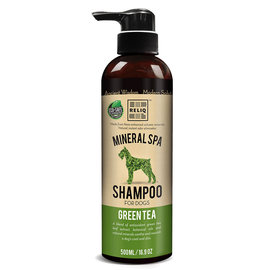 Reliq Pet Green Tea Mineral Spa Dog Shampoo 500ml