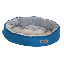 Rogz Rogz Cuddle Oval Pod Medium Blue