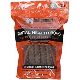 Indigenous Pet Products Indigenous Dental Health Bones Smoked Bacon 481g