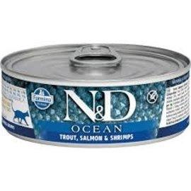 Farmina N&D Ocean Cat - Trout, Salmon & Shrimp 3oz