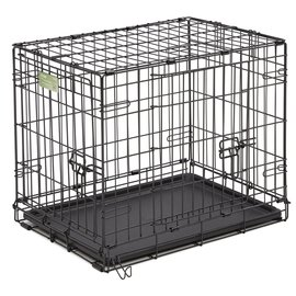 Smart Pet Love Wire Crates Wire Training Crate 2 Door X-Small  18x12x14.5