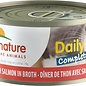 Almo Nature Almo Cat Nature Daily Complete Tuna w/ Salmon Can 70g
