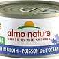 Almo Nature Almo Nature HQS Natural Ocean Fish in Broth Cat Can 70g