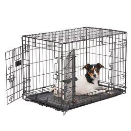 Smart Pet Love Wire Crates Wire Training Crate 2-Door Medium 30x19x21.5