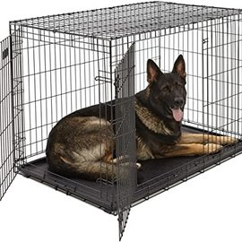 Smart Pet Love Wire Crates Wire Training Crate 2 Door X-Large  42x27.5x30