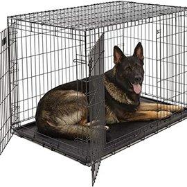Smart Pet Love Wire Crates Wire Training Crate 2 Door XX-Large  48x29x31.5