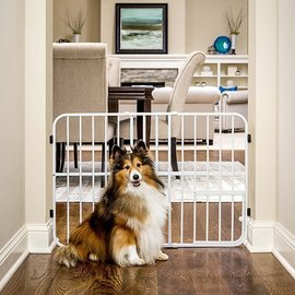 """TUFFY Expandable Gate 24"""" High, Expands 22""""-42"""""""