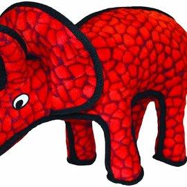 TUFFY Tuffy Jr Triceratops Dog Toy