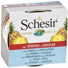 Schesir Schesir Tuna Entree with Pineapple and Rice 75g