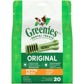 Greenies Greenies Original Petite 20Ct 12oz