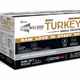 Iron Will Iron Will Frozen - Basic Turkey 6Lb