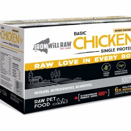 Iron Will Iron Will Frozen - Basic Chicken 6LB