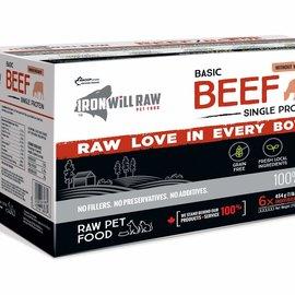 Iron Will Iron Will Frozen - Basic Beef 6lb