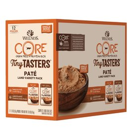 Wellness Wellness Core Tiny Tasters Land Variety Pack (Chicken and Turkey) 12x50g