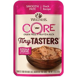 Wellness Core Tiny Tasters Cat Duck Pate 1.75oz Pouch