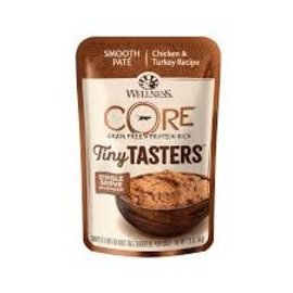 Wellness Core Tiny Tasters Cat Chicken & Turkey 50g Pouch