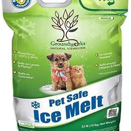 Ground Works Pet Friendly Salt Natural Icemelter 22lb