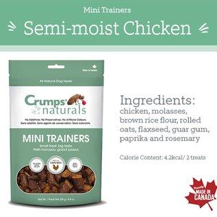Crumps' Crumps' Dog Naturals Mini Trainers Chicken 250g