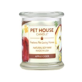 One Fur All PET HOUSE Apple Cider Candle 8.5oz